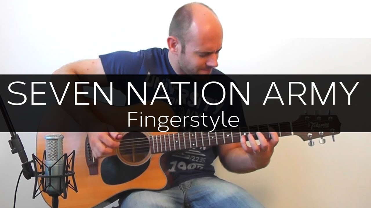 Seven Nation Army – Acoustic Guitar Solo Cover Fingerstyle)