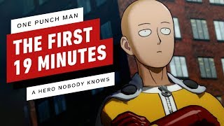 One Punch Man: A Hero Nobody Knows - The First 19 Minutes by IGN