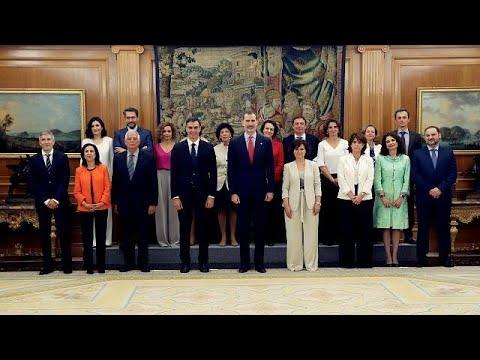 Νέα κυβέρνηση στην Ισπανία – «Αντανάκλαση της κοινωνίας», λέει ο Σάντσεθ…