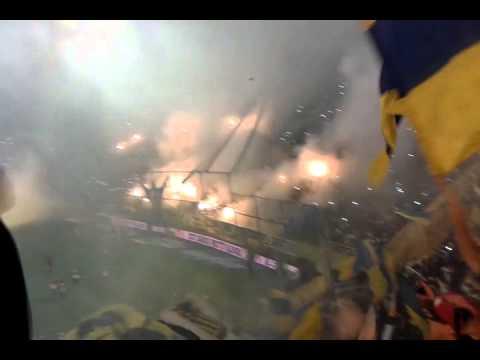 Video - LA UNICA HINCHADA DE LA CIUDAD... ROSARIO CENTRAL - Los Guerreros - Rosario Central - Argentina