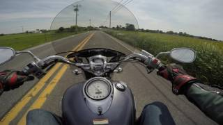 7. 2007 Yamaha V star 1100 Classic Test Drive Review
