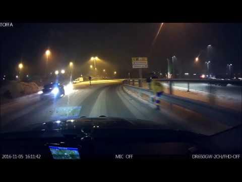 Trafikkfarlig på Hesseng