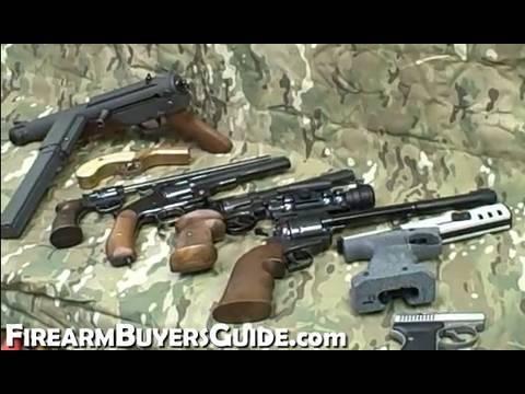 Unusual Revolvers and Pistols