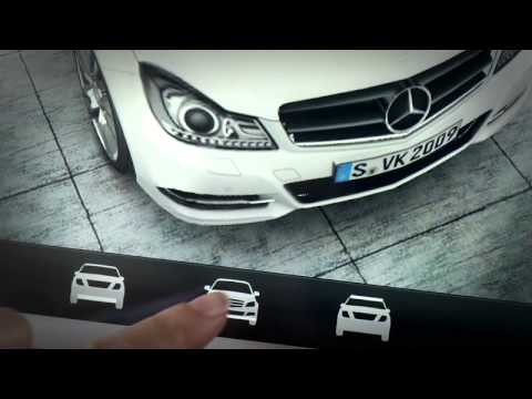 Video mercedes benz accessories augmented reality apps for Mercedes benz accessories online store