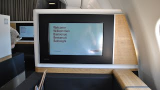 Airline: Swiss Aircraft: Airbus A330-343X HB-JHJ Flight: LX2807 Geneva to Zurich Class: Business (First class comfort) Seat: 2K ...