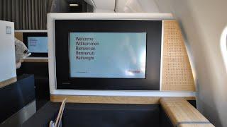 Airline: Swiss Aircraft: Airbus A330-343X HB-JHJ Flight: LX2807 Geneva to Zurich Class: Business (First class comfort) Seat: 2K...