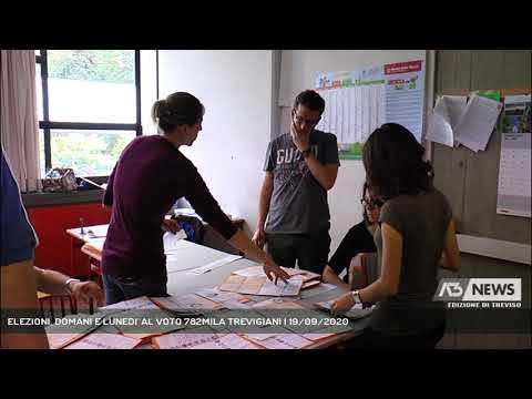 ELEZIONI, DOMANI E LUNEDI' AL VOTO 782MILA TREVIGIANI | 19/09/2020