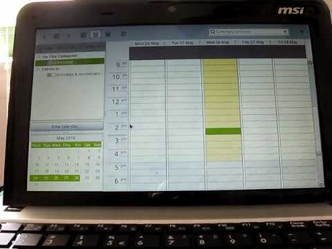Intro to MeeGo v1.0 Netbook on an MSI Wind
