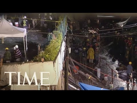 Who Is Frida Sofia? Mexico Shocked At The Truth Behind Girl 'Trapped' In Rubble | TIME