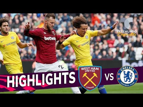 West Ham Vs. Chelsea: 0-0 Goals & Highlights | Premier League | Telemundo Deportes