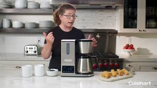 PurePrecision™ 8 Cup Pour-Over Coffee Brewer Demo Video Icon
