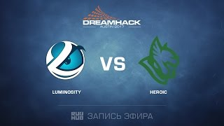 Luminosity vs Heroic, game 2