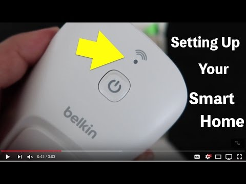 Belkin Wemo Smart Switch Set up. Amazon echo works