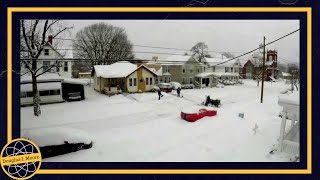 Williamstown (WV) United States  city photo : Time Lapse of Winter Storm Jonas 2016, Williamstown West Virginia