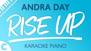 Video Rise Up (Lower Key of C) [Piano Karaoke Instrumental] Andra Day MP3, 3GP, MP4, WEBM, AVI, FLV April 2018