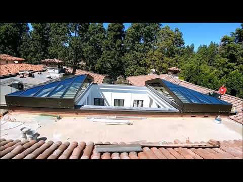 Retractable Skylight Beverly Hills CA.