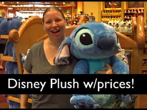 Shopping for Stuffed Toys at the World of Disney ... with Prices! [August 2016]