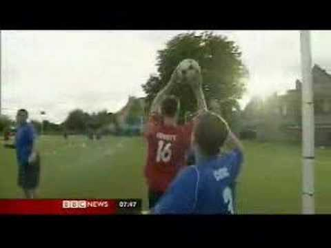BBC Breakfast Try Korfball