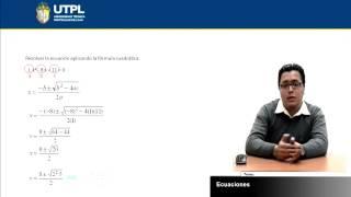 UTPL ECUACIONES [(INFORMÁTICA )(FUNDAMENTOS MATEMÁTICOS)]