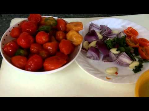Caribbean Recipe: How to Make a Habenero Lime Pepper Sauce