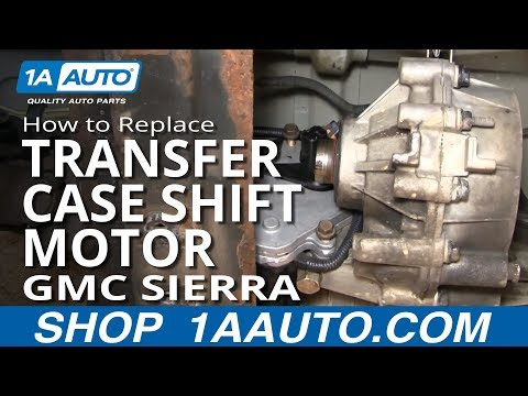 Chevy silverado you like auto for Transfer case motor replacement cost