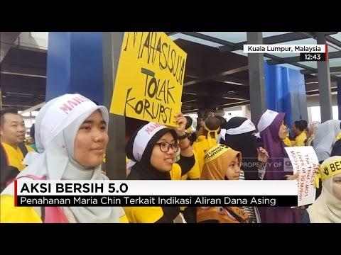 Aksi Bersih 5.0, unjuk rasa besar-besaran rakyat Malaysia terhadap kebobrokan Najib