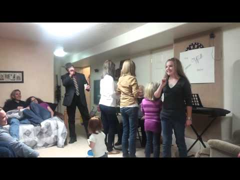 Dixon Family Christmas Party video 1
