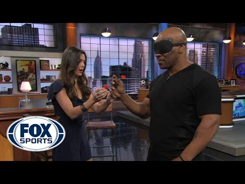 Mike Tyson Throws Darts...Blindfolded (WATCH)