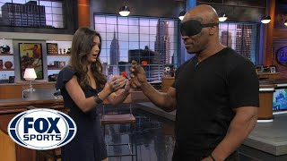 Mike Tyson Throwing Darts Blindfolded :o
