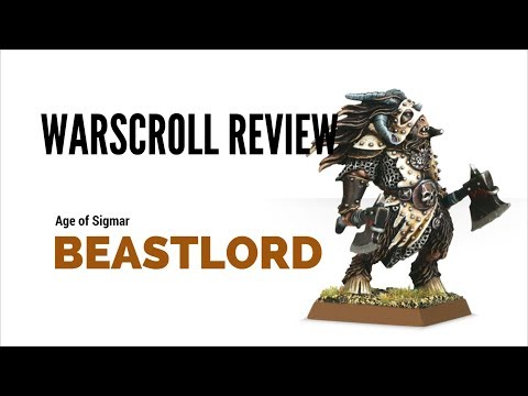 Age of Sigmar Beastlord Warscroll Review
