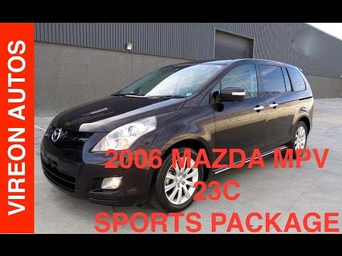 2006 MAZDA MPV SPORTS 20S - Chosing the right van (8 Seater), Peoples mover