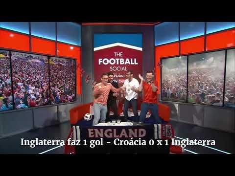 Croácia 2 x 1 Inglaterra - Reação das duas torcidas croata e inglesa