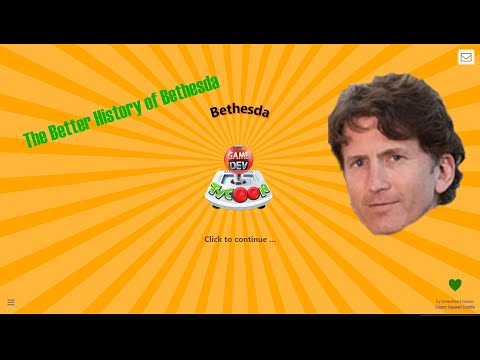 The Better History of Bethesda - GameDev Tycoon