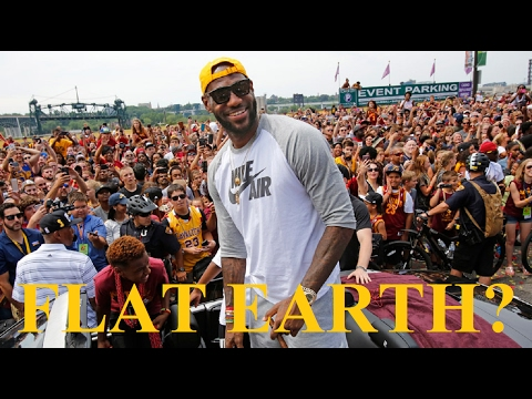 Lebron James asks Kryie Irving about Flat Earth - Video - Mark Sargent ?