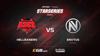 HellRaisers vs EnVyUs, map 1 train, SL i-League StarSeries Season 3 Europe Qualifier