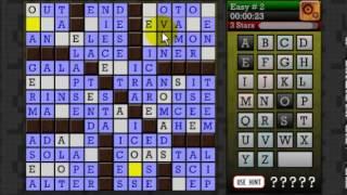 CROSSWORD CRYPTOGRAM - Puzzle YouTube video
