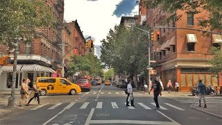 New York (NY) United States  City new picture : Driving Downtown - Greenwich Village - New York City NY USA