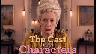 THE GRAND BUDAPEST HOTEL - Meet the Cast of Characters