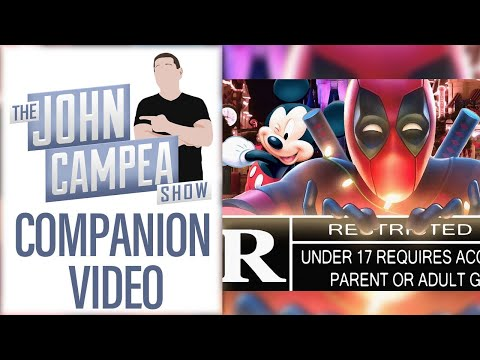 How R Will Disney Let Deadpool Be - TJCS Companion Video