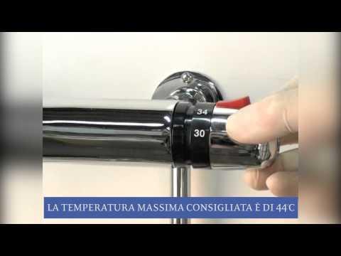 Procedura di Taratura per Docce Hudson Reed con Miscelatore Termostatico Esterno