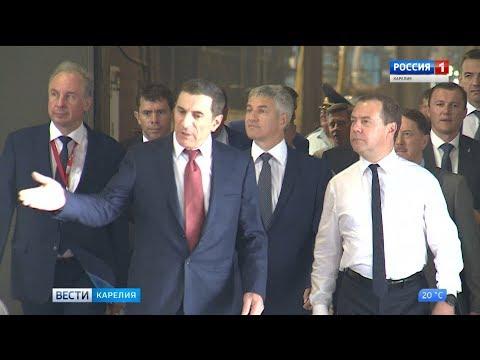 В Карелию с рабочим визитом прибыл Дмитрий Медведев - DomaVideo.Ru
