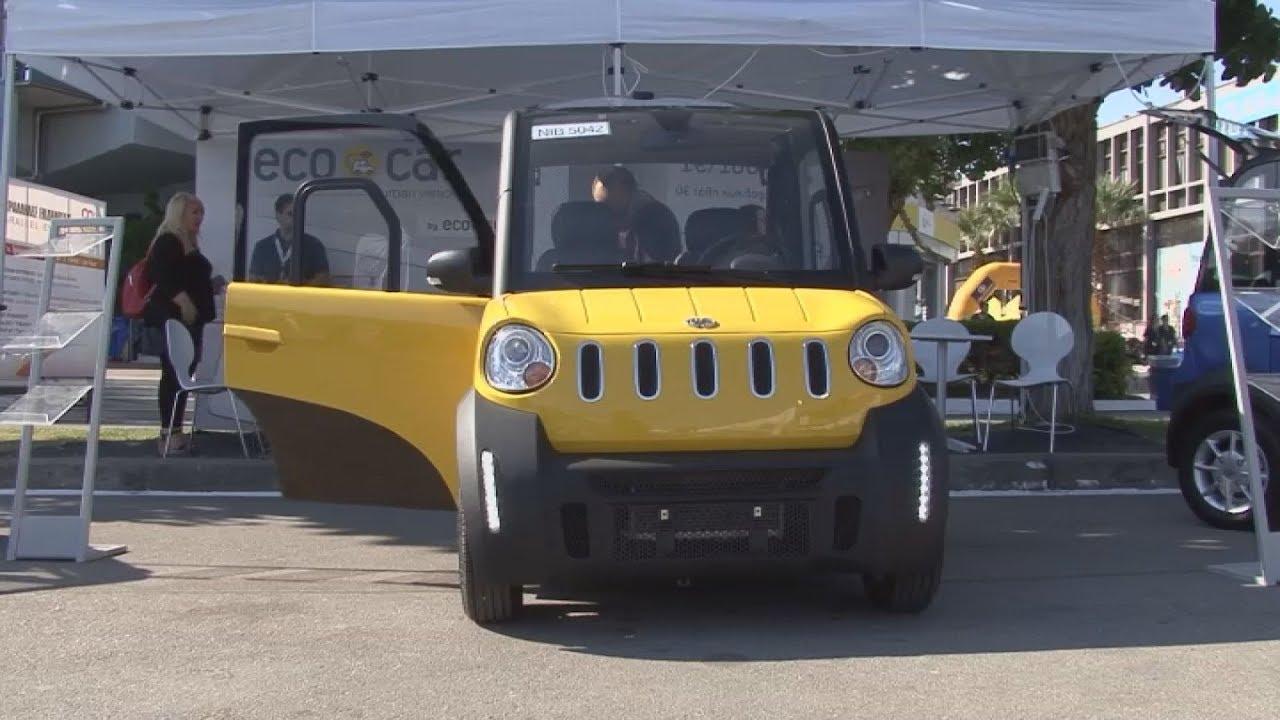 """Το ηλεκτρικό """"Ecocar"""" συστήθηκε στο κοινό στην 82η ΔΕΘ"""