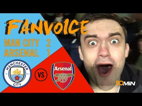 De Bruyne and Sterling magic sink Arsenal 2-1 | Man City 2-1 Arsenal | 90min FanVoice