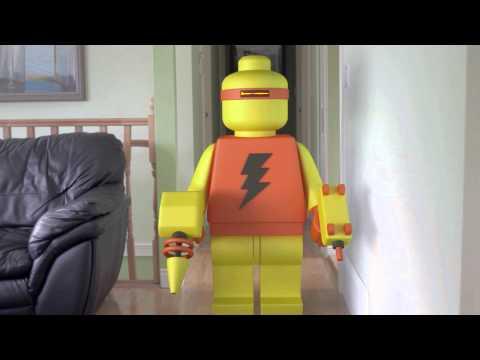 Nerf LEGO Robot!