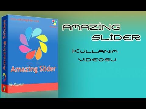 Amazing Slider Nasıl Kullanılır? Slider siteye nasıl entegre edilir?