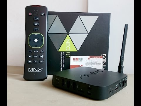 Android Tivi Box Minix NEO U1 - Unbox