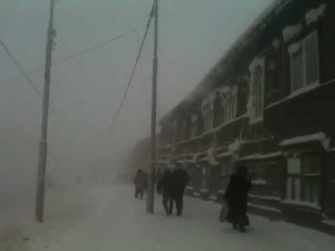 Qyteti me i ftohte ne bote ku ende ka jete