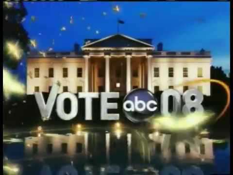 Election Night 2008  ABC News Coverage
