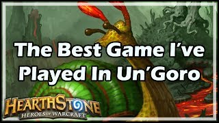 Hearthstone Un'Goro  The most amazing game I've played during the Un'Goro expansion Get Awesome Games ▻ http://www.