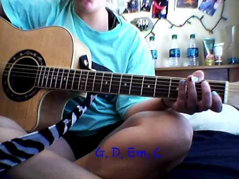 Perfect two auburn EASY BEGINNER guitar tutorial